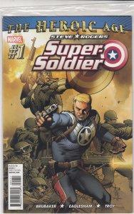 Steve Rogers: Super Soldier #1 (2010)