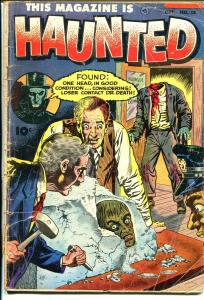 This Magazine Is Haunted #13 1953-Fawcett-decapitation cover-pre-code horror-G