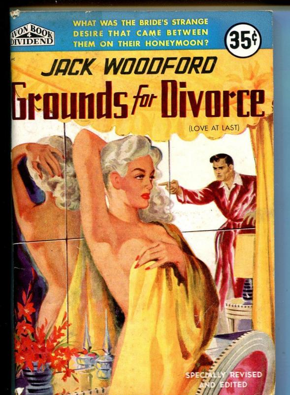 Avon Book Dividend 5/1951-Jack Woodford-spicy cover art-4th printing-VG