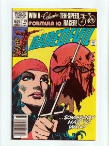 Daredevil #179 Elektra Frank Miller Cover and Art Marvel Comics 1982 NM-