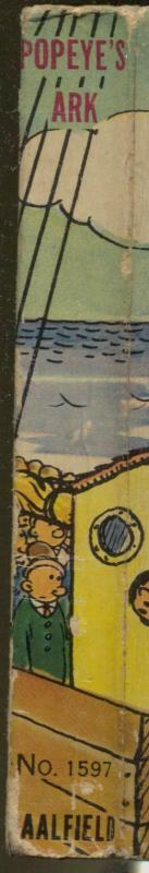 Poeye's Ark- Big Little Book-#1597-1936-EC Segar art-soft cover-FN