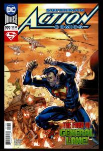 Action Comics #999  (May 2018, DC)  9.4 NM