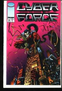 Cyber Force #8 (1994)