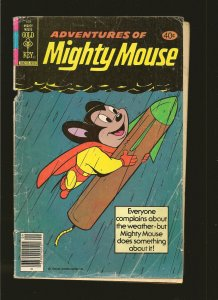 Gold Key Adventures Of Mighty Mouse #169 (1979) SALVAGED PLEASE READ NOTE