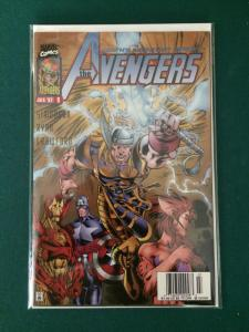 The Avengers #9 (Heroes Reborn)