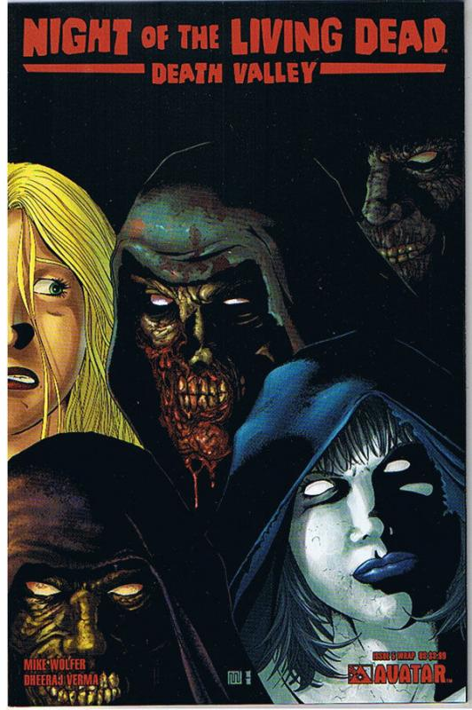 NIGHT of the LIVING DEAD Death Valley #5, NM, Wrap, 2011, more NOTLD in store