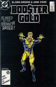 Booster Gold (1986 series) #20, VF+ (Stock photo)