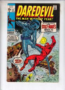 Daredevil #67 (Aug-70) FN/VF Mid-High-Grade Daredevil