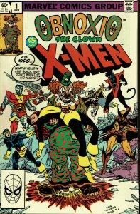 Obnoxio the Clown vs. the X-Men #1 - VF/NM