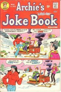 ARCHIES JOKE BOOK (1954-1982)194 VG Mar. 1974 COMICS BOOK