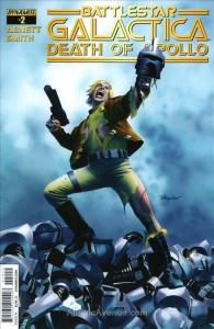 (Classic) Battlestar Galactica: The Death of Apollo #2A VF; Dynamite   save on s