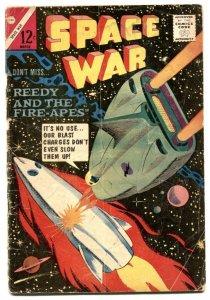 Space War #27 1964- Charlton Comics- Fire-Apes G