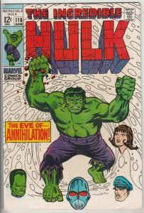 Incredible Hulk #116 (Jun-69) VF/NM High-Grade Hulk