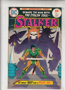 Stalker #1 (Jul-75) VF/NM High-Grade Stalker