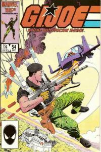 G.I. Joe, A Real American Hero #54 VF/NM; Marvel | save on shipping - details in