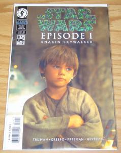 Star Wars: Episode I Anakin Skywalker #1 VF- dynamic forces holofoil variant+COA