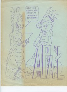 Small Collection of FANZINE Covers and Art Pages - Scarce!