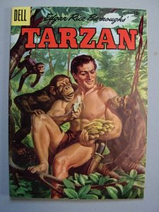 TARZAN 75  Fine Dell 1955 ERB  Painted Cover