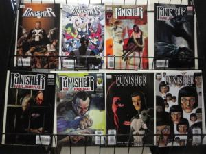 PUNISHER Marvel 8 comics various series VF-NM Ennis Dillon Remender Fraction