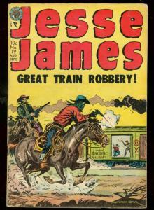JESSE JAMES #19 1954-AVON-KUBERT-KINSTLER-PANCHO VILLA VG