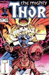 Thor (1966 series) #342, VF+ (Stock photo)