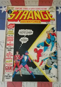STRANGE ADVENTURES #235 FN/VF 1972 Justice League of America Giant-Size Issue