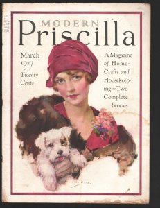 Modern Priscilla 3/1927-Pulp fiction-Fashion-food-firnitur-Vintage advertisin...