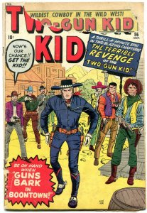 Two-gun Kid #56 1960- Jack Kirby cover- Marvel Western Don Heck FAIR