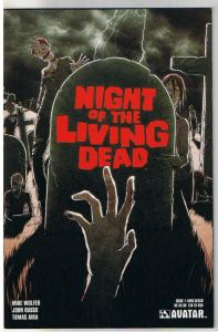 NIGHT of the LIVING DEAD #1, NM, Long Beach, LTD,2010,undead,more NOTLD in store