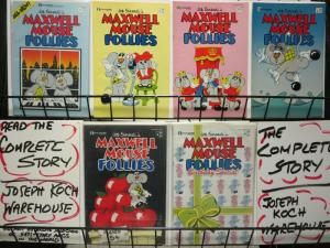 MAXWELL MOUSE FOLLIES 1-6 FUNNY ANIMALS GALORETHE SET!