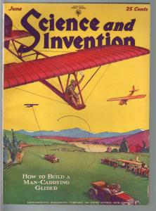 Science & Invention 6/1929-Gernsback-gliders-modern high powered cars--Dunninger