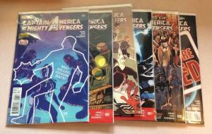 Captain America And The Mighty Avengers 4-9 6 Book Near Mint Lot Set Run