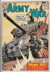 Our Army at War #86 (Sep-59) VF High-Grade Easy Company, Sgt. Rock
