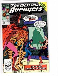 West Coast Avengers (1985) #42 VF+ (8.5)