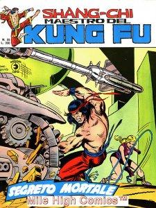 SHANG-CHI MAESTRO DEL KUNG FU MAGAZINE ITALIAN (1975 Series) #23 Very Fine