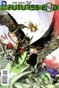 New 52: Futures End #12, NM (Stock photo)