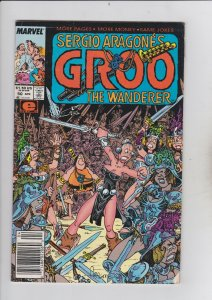Marvel Comics! Groo the Wanderer! Issue 50!