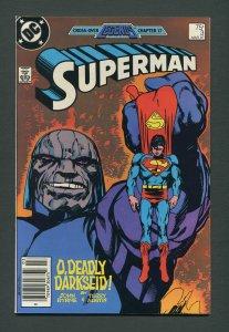 Superman #3  / 9.4 NM  Newsstand  March 1987