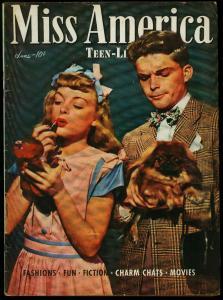 Miss America Vol. 4 #2 1946- Timely Comics- Patsy Walker- Fashions VG+