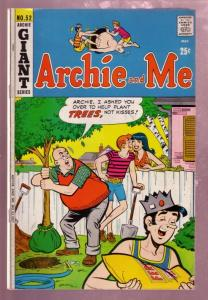 ARCHIE AND ME #52 1972 MR WEATHERBEE TREE PLANT  COVER VG/FN