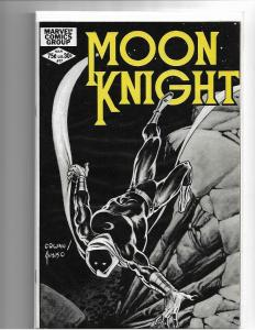 MOON KNIGHT #17 - NM - HTF IN HIGH GRADE - CLASSIC COWAN COVER - BRONZE AGE KEY