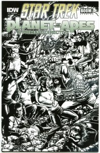 STAR TREK PLANET of the APES #1, NM, Variant, Perez, 2014, IDW, more in store
