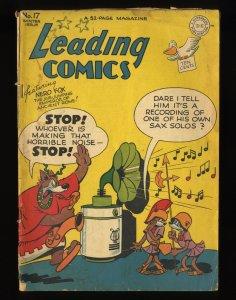 Leading Comics #17 GD/VG 3.0