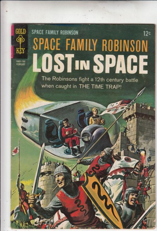 Space Family Robinson, Lost in Space #20 (Feb-67) FN/VF Mid-High-Grade Will R...