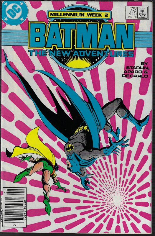 Batman #415 (DC, 1988) VF/NM