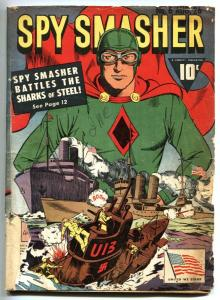 Spy Smasher #6 1942-WWII issue - Fawcett Golden Age Comics