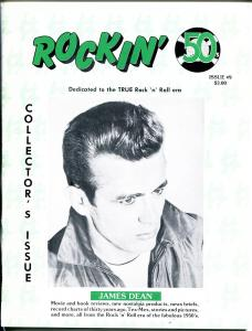 Rockin' 50's #9 1987 -Wm Griggs-James Dean-early rock history-VF