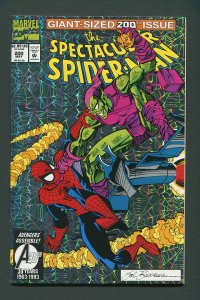 Peter Parker,Spectacular Spiderman #200 / 9.2  NM  May 1993
