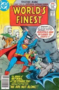 World's Finest Comics #243 FN; DC | save on shipping - details inside