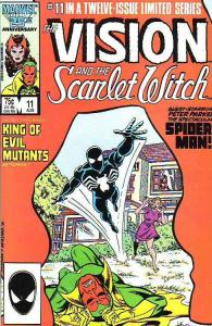 Vision and the Scarlet Witch, The #11 (Aug-86) NM Super-High-Grade The Vision...
